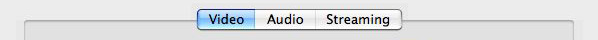 Screenshot of QuickTime MPEG-4 Video Tab