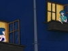 Dialogue on the windowsill